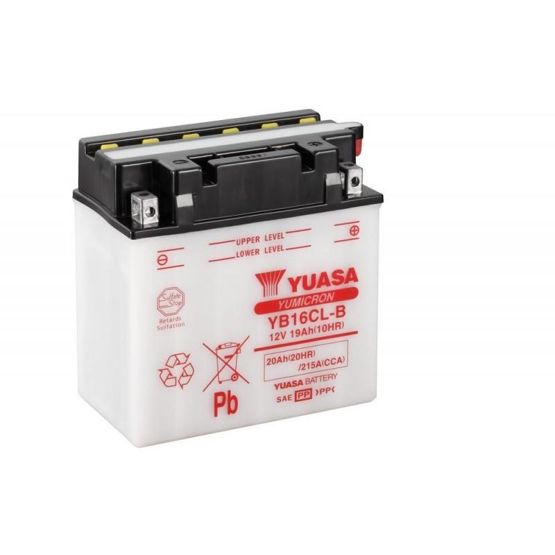 Batteria YUASA YB16CL-B per Sea Doo 2 tempi