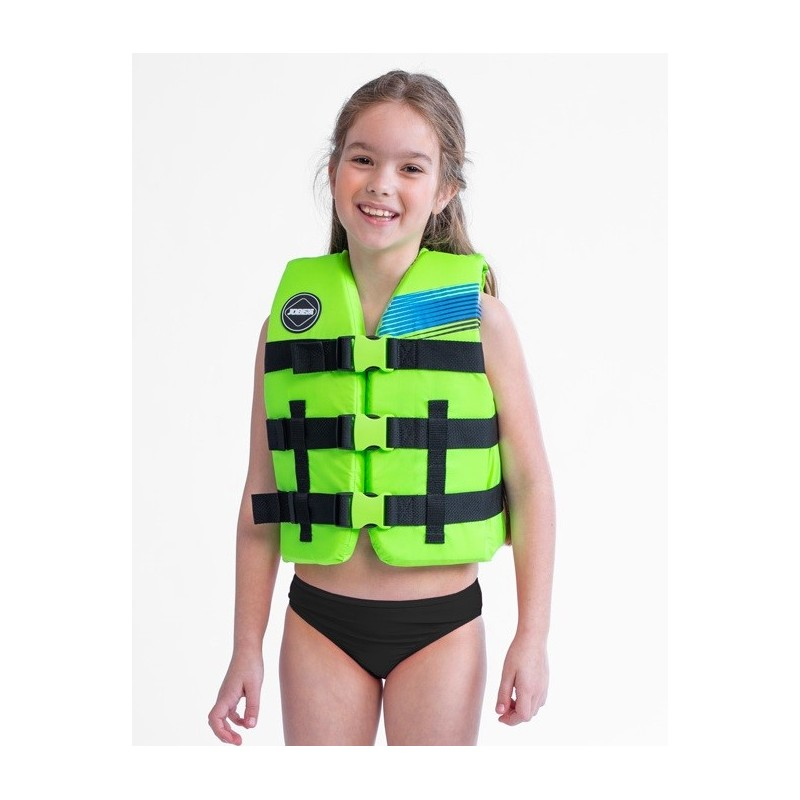Giubbotto salvagente bimbo Jobe Vest Youth Nylon Lime Green